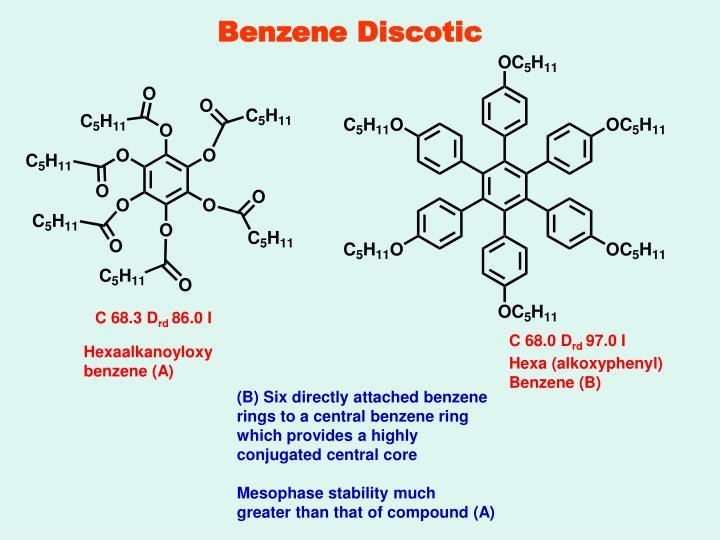 Benzene Discotic