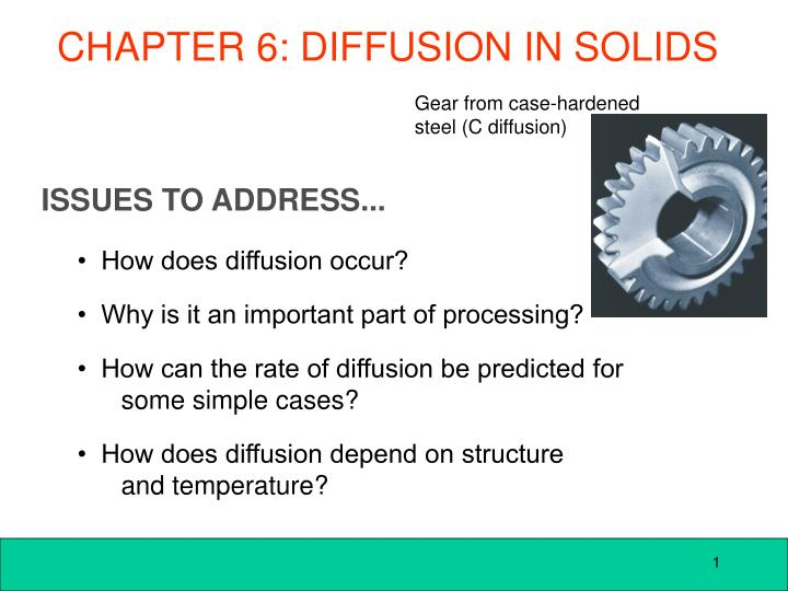 chapter 6 diffusion in solids n.