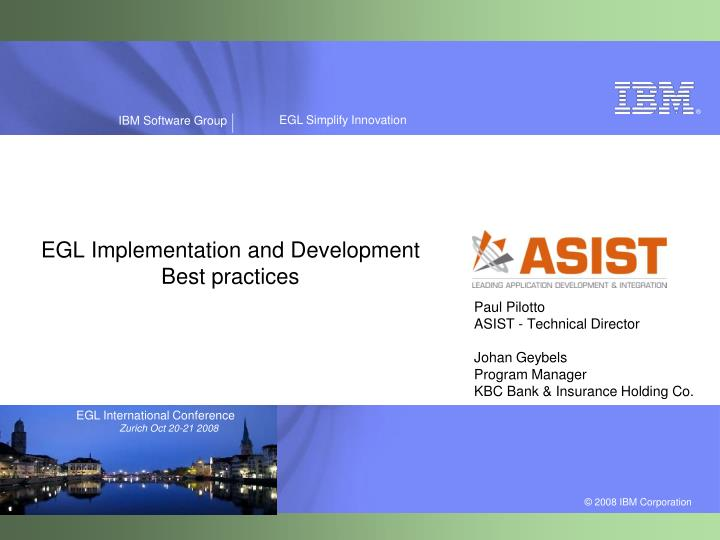 egl implementation and development best practices n.
