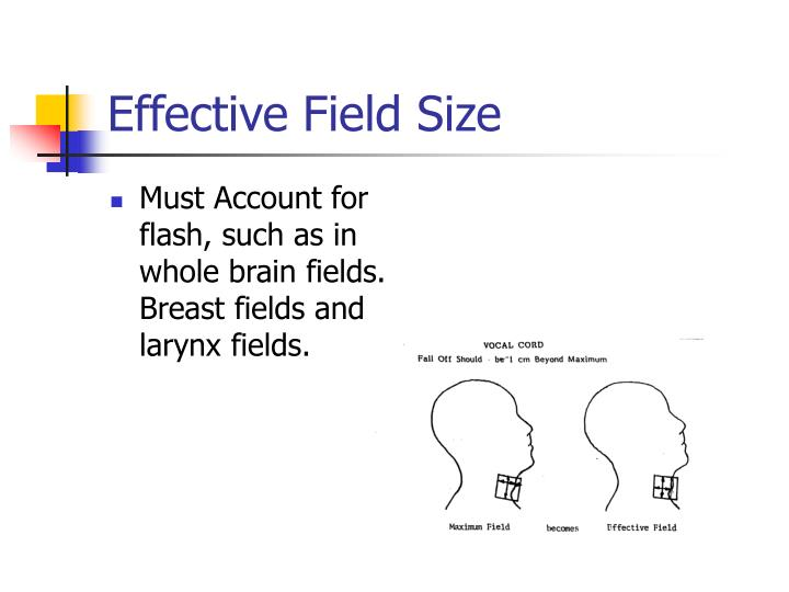Effective Field Size