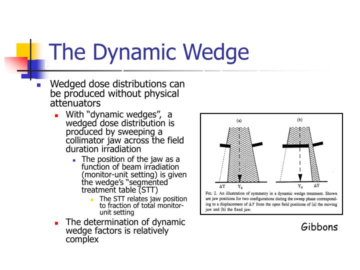 The Dynamic Wedge