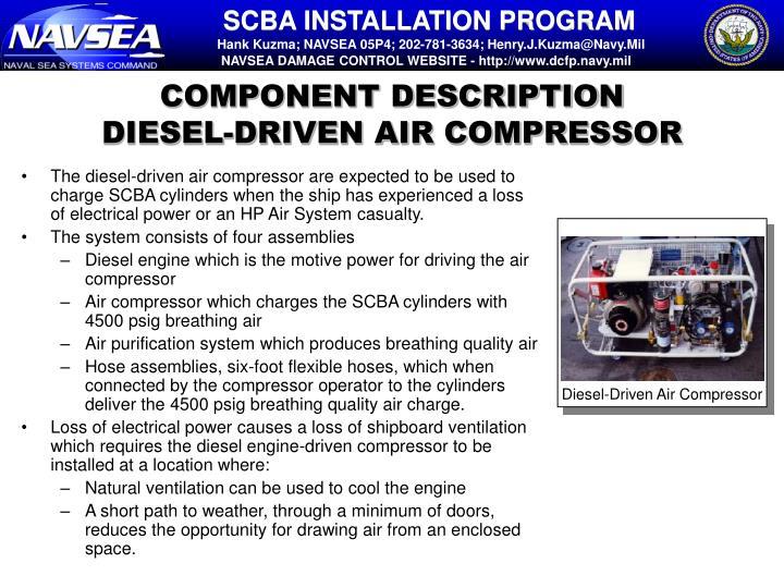 Diesel-Driven Air Compressor