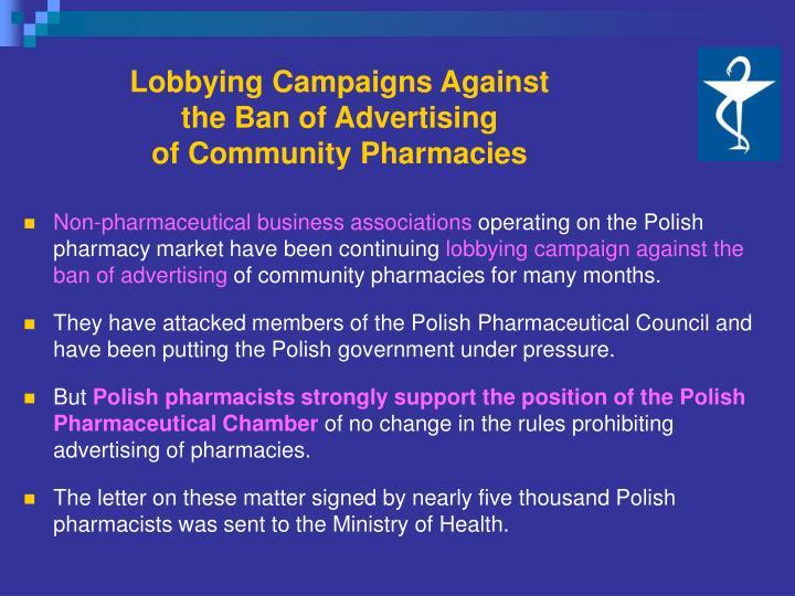 Lobbying Campaigns Against