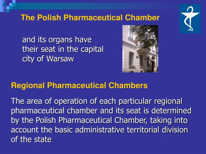 The polish pharmaceutical chamber
