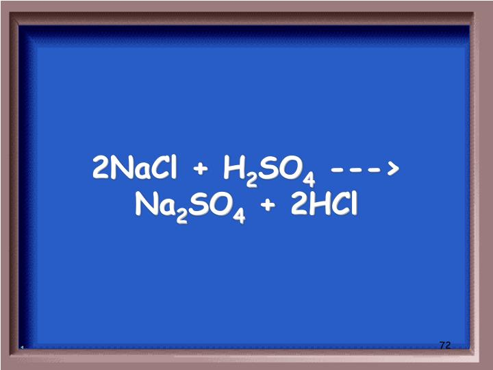 2NaCl + H