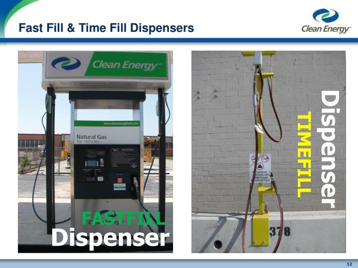 Fast Fill & Time Fill Dispensers