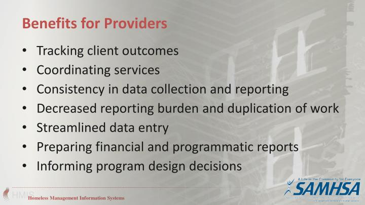 Tracking client outcomes