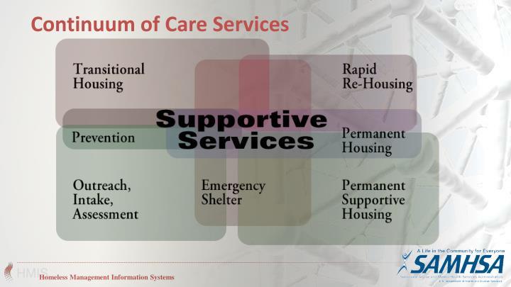 Continuum of Care Services