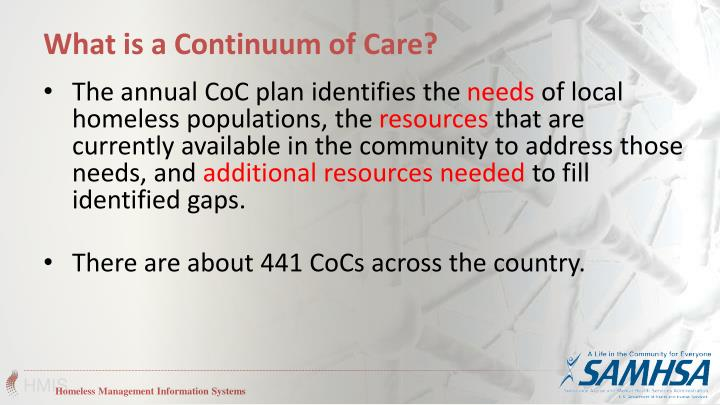 What is a Continuum of Care?