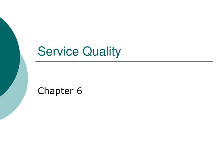 service quality n.