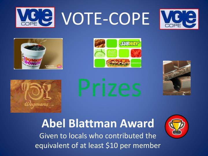 VOTE-COPE