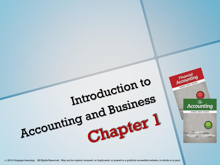 introduction to accounting and business n.