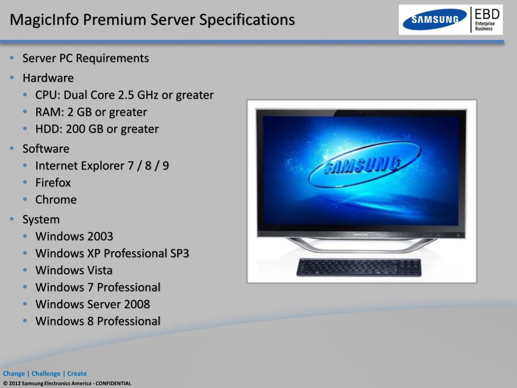 PPT - Samsung Digital Signage PowerPoint Presentation - ID