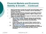 financial markets and economic stability growth continued2