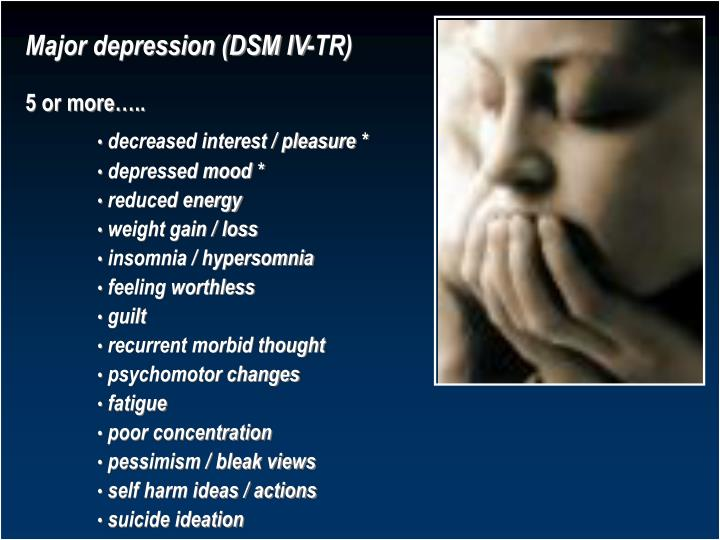 PPT - Depressive Illness Dr. Sarma R V S N Consultant ...