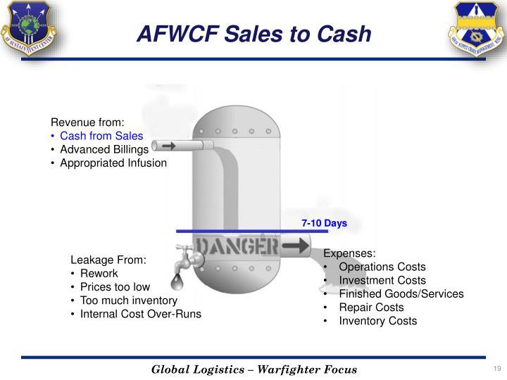 AFWCF Sales to Cash
