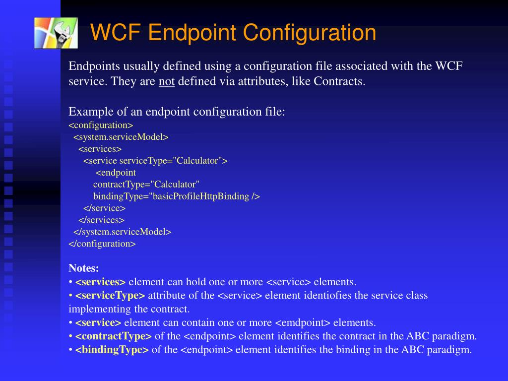 "PPT - Windows Communication Framework (WCF) Code-Named ""Indigo"