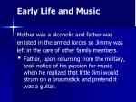 early life and music1