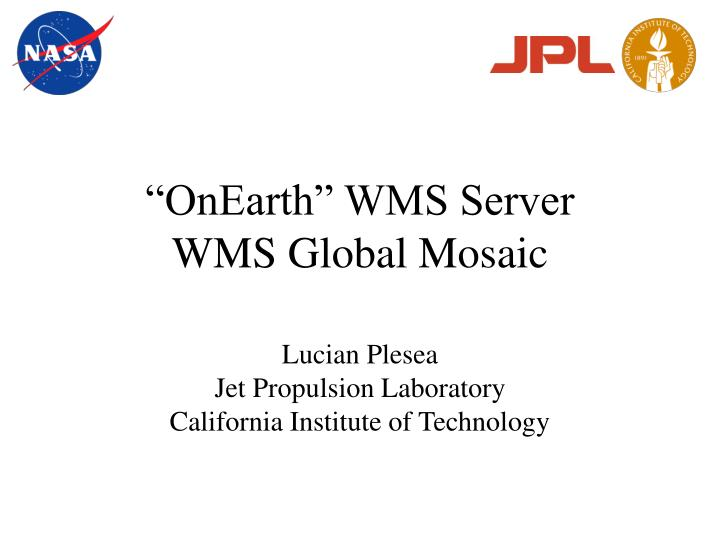 Onearth wms server wms global mosaic