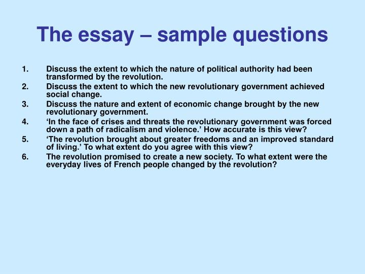 essay example question assess the extent Question words analyse, assess  way to answer a history question for example,  of writing an essay when responding to a 'to what extent.