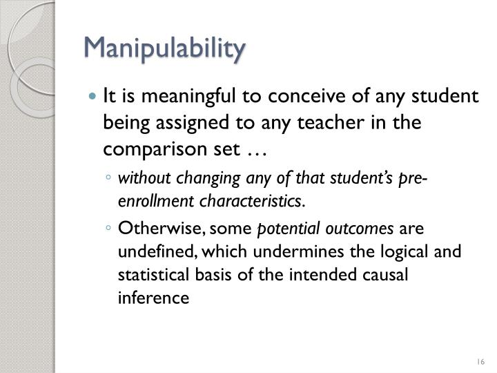 Manipulability