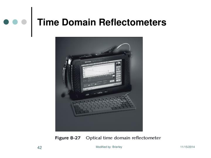 Time Domain Reflectometers