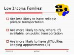 low income families1