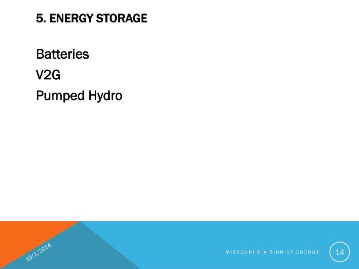 5. ENERGY STORAGE