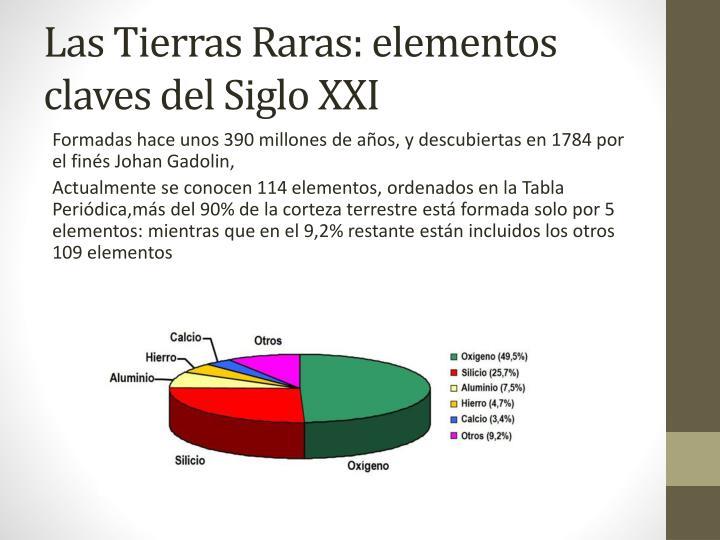 las tierras raras elementos claves del siglo xxi - Tabla Periodica Tierras Raras