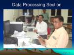 data processing section1