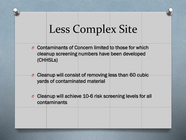 Less Complex Site