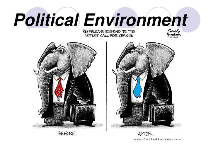 Political environment1