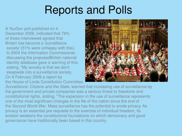 Reports and polls