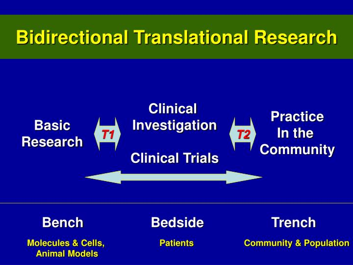 Bidirectional Translational Research