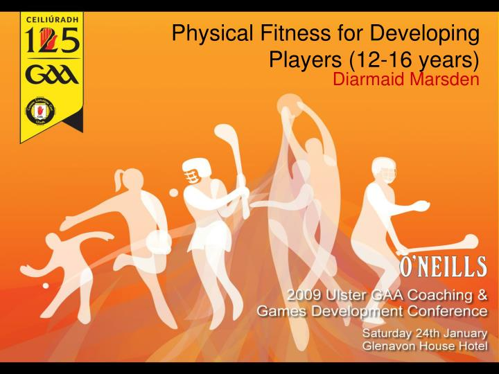 physical fitness for developing players 12 16 years n.