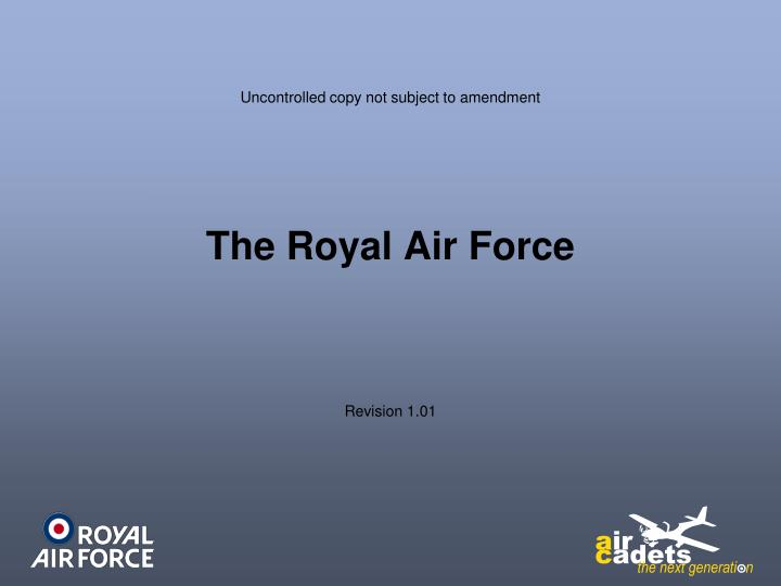 Ppt The Royal Air Force Powerpoint Presentation Id6645458