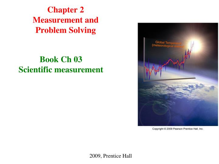 chapter 2 measurement and problem solving n.
