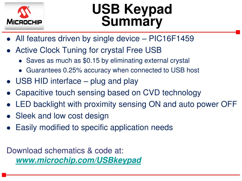 PPT - Crystal Free USB with mTouch Demonstration PowerPoint