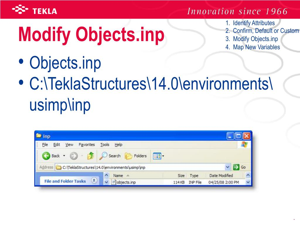 PPT - Tekla Structures User Meeting 2008 PowerPoint