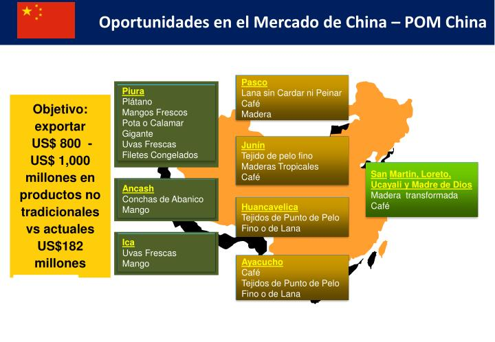 Oportunidades en el Mercado de China – POM China