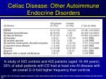 celiac disease other autoimmune endocrine disorders