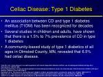 celiac disease type 1 diabetes