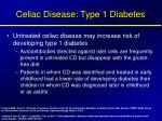 celiac disease type 1 diabetes1