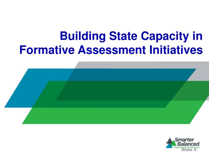 Building State Capacity in