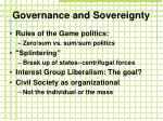 governance and sovereignty1