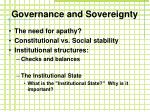 governance and sovereignty2