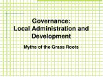 governance local administration and development