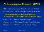 al balqa applied university bau