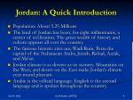jordan a quick introduction
