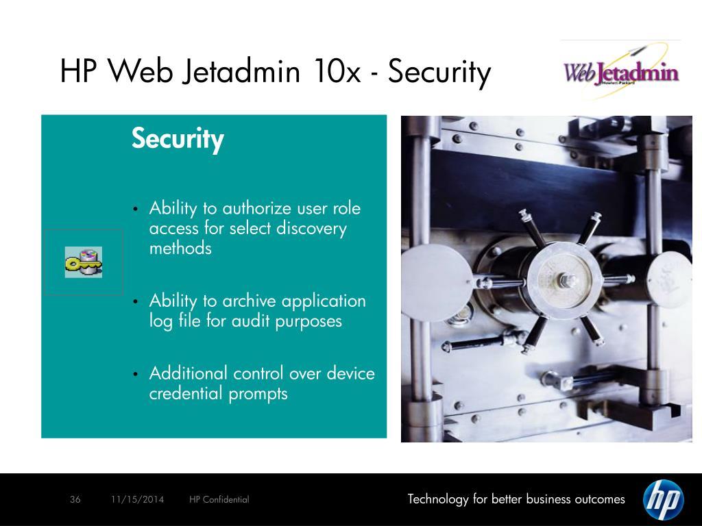 PPT - Managing Your Printing & Imaging Environment HP Web